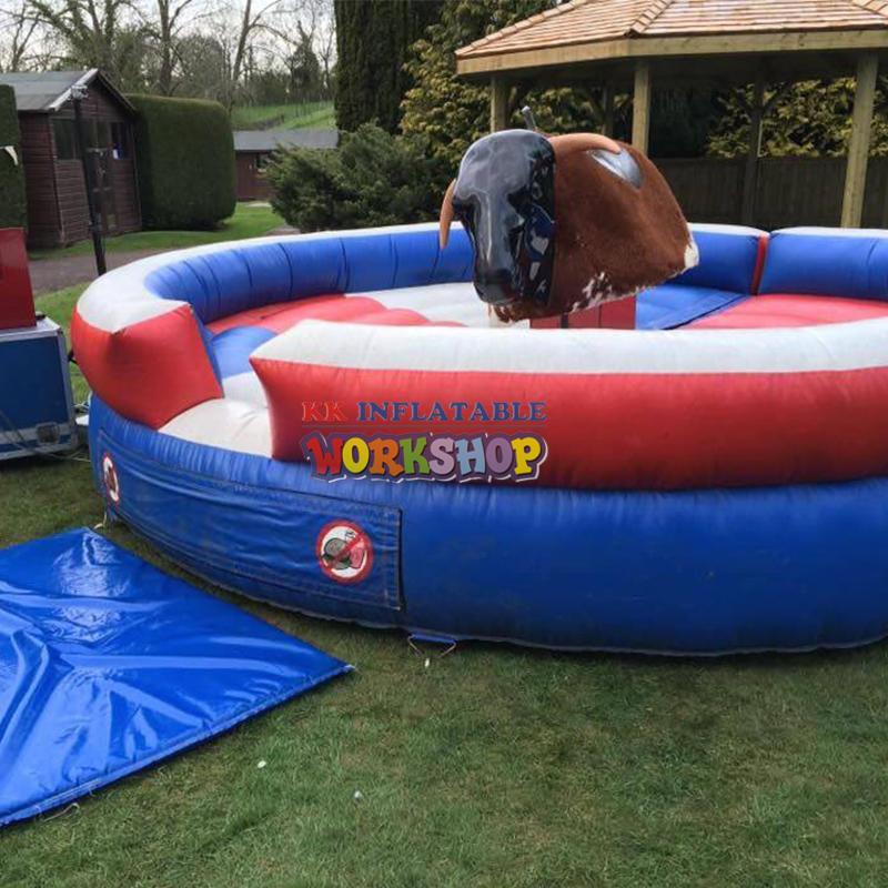 Inflatable Bullfight Double Mechanical Bull