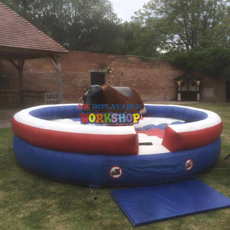 Inflatable Bullfight Double Mechanical Bull