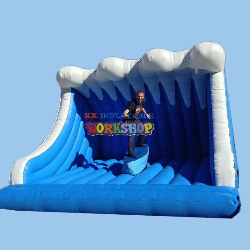Inflatable Mechanical Surfing simulators