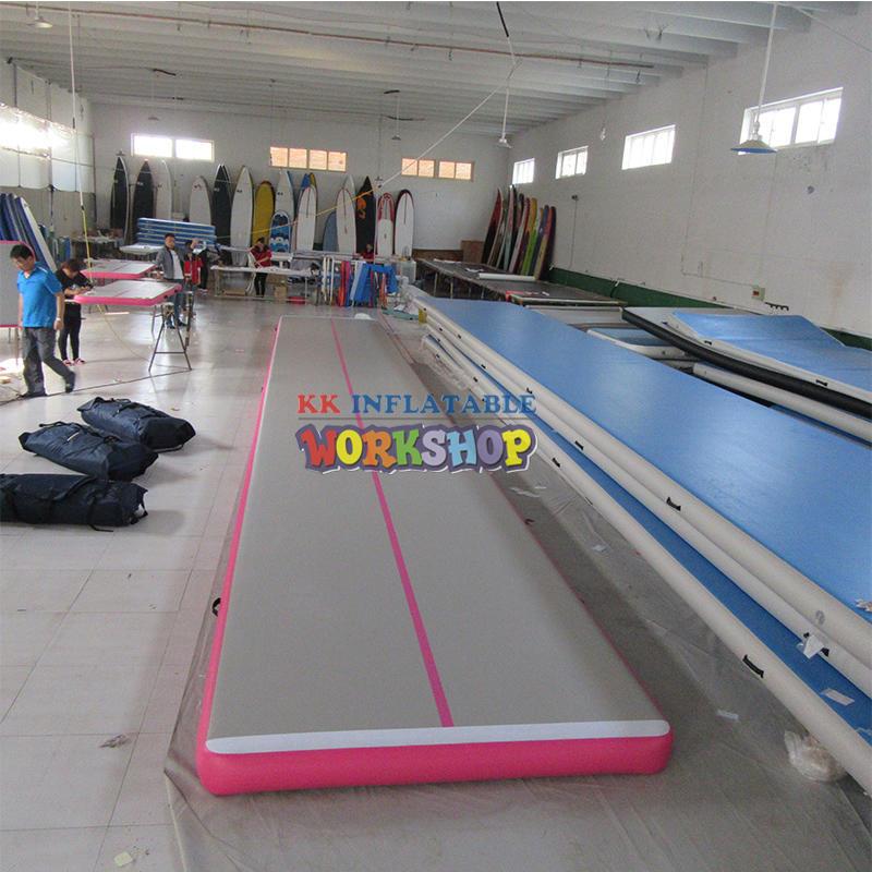 Yoga Mats Inflatable Tumble Track Trampoline