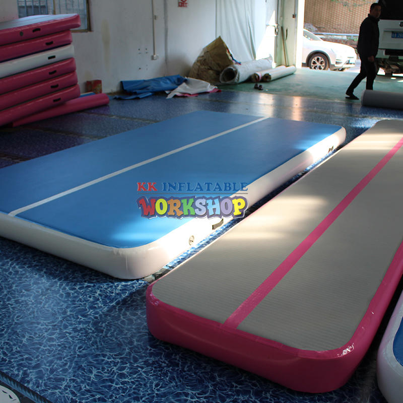 inflatable fitness mat for exercise