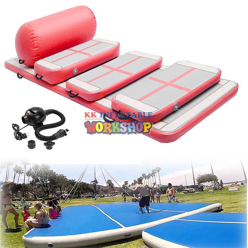 Race standard multi-standard inflatable gymnastic mat