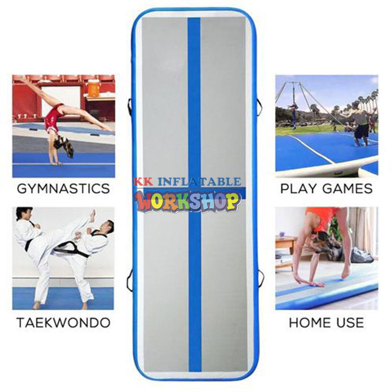 Race standard multi-standard inflatable gymnastic mat