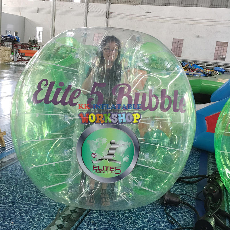 Inflatable Zorb Ball Bubble Football
