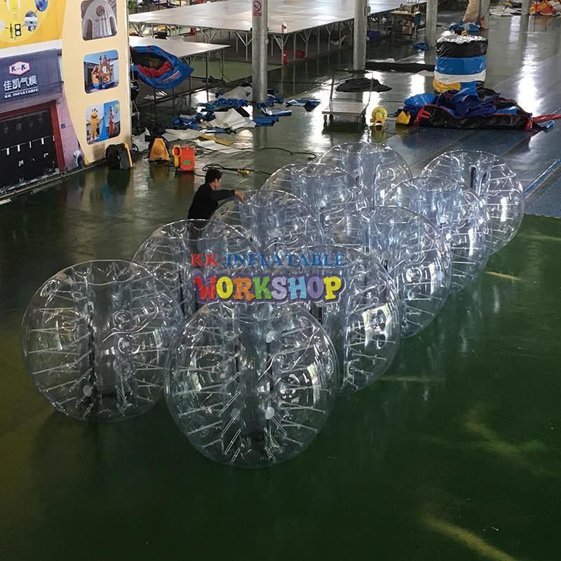 PVC Inflatable Body Ball FOOTBALL BUBBLE BALLS