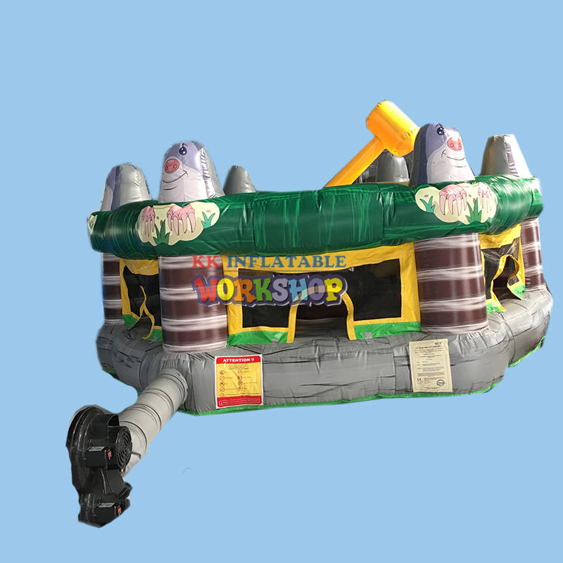 whack a mole playing game Amusement Park