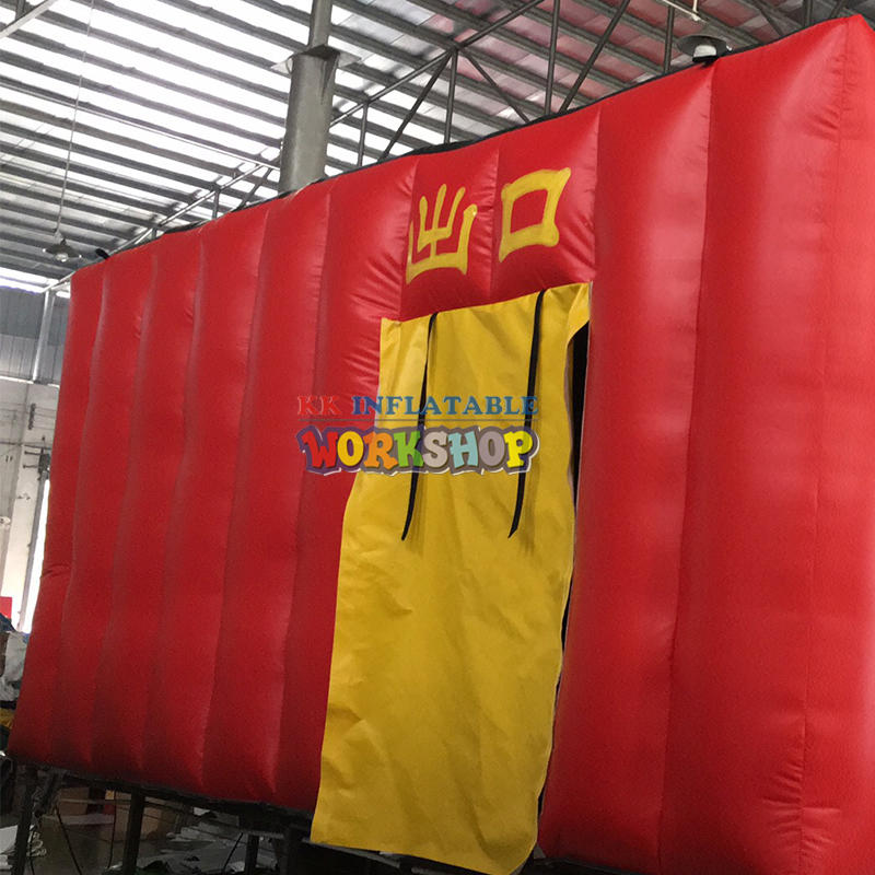 Customized fire training simulator Student drill