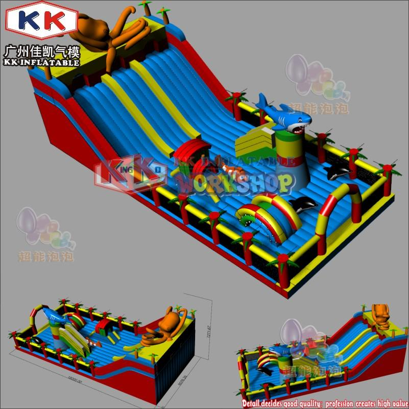 manufacturers selling inflatable slides