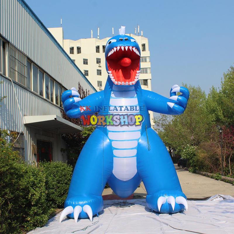 Customized inflatable dinosaur costume