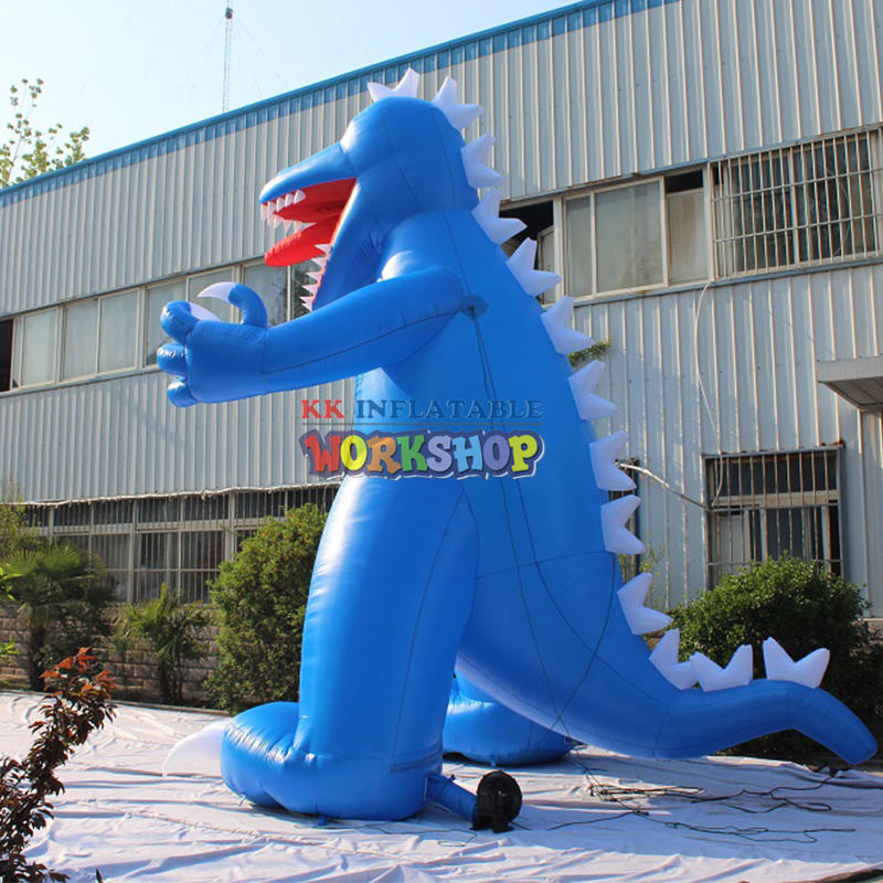 Customized inflatable dinosaur costume