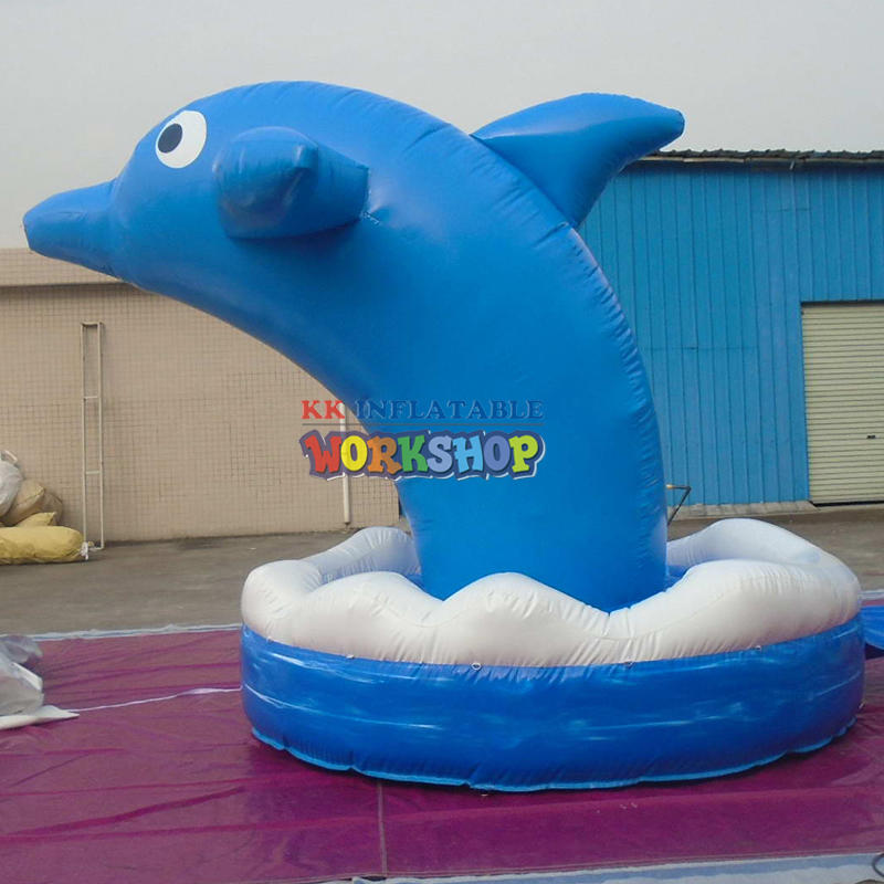outdoor advertising item inflatable Dolphin
