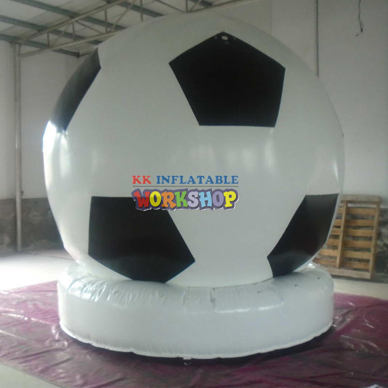 Sports giant inflatable soccer ball for advertising