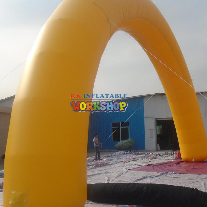 Inflatable advertising arches customize