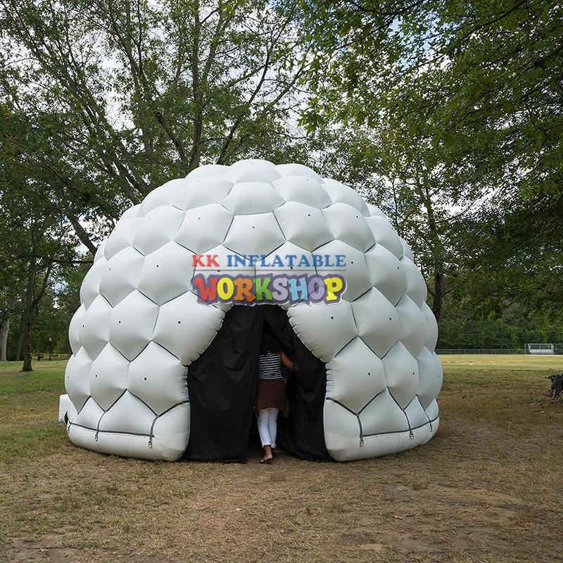 Multifunctional custom inflatable tent