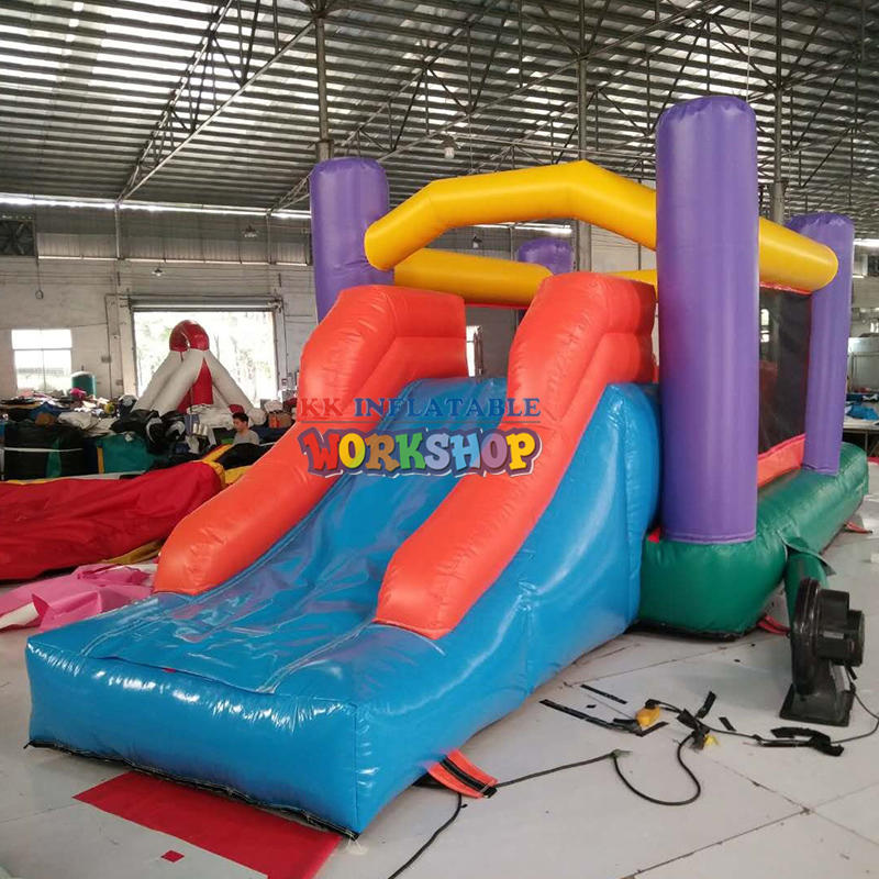 Olympic Mini Inflatable Obstacle Course,Toddler Inflatable rush obstacle course