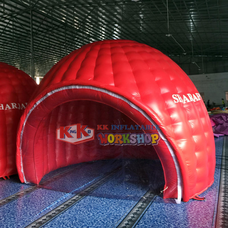 Custom Advertising air tight inflatable arch tent