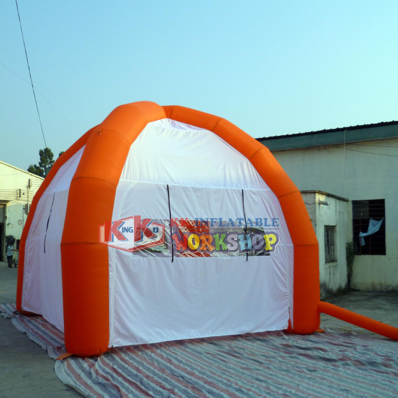 Outdoor temporary temporary inflatable tent