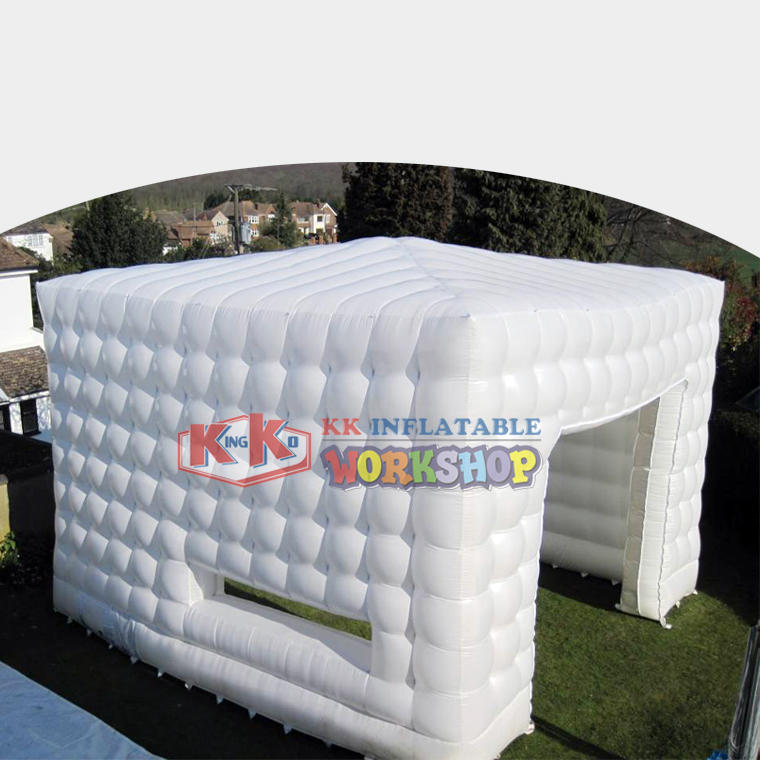 Outdoor white multi-purpose inflatable tent