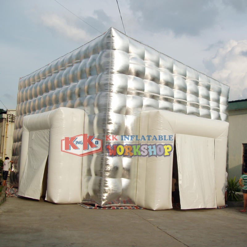 Silver Giant Inflatable Party Tent