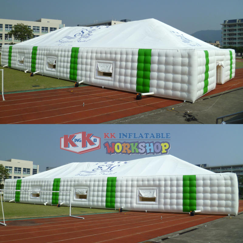 large PVC Inflatable Camping Tent
