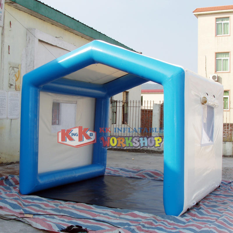 Outdoor Car Parking Inflatable Air Tent / inflatable Garage Tent In Anti - UV PVC Tarpaulin