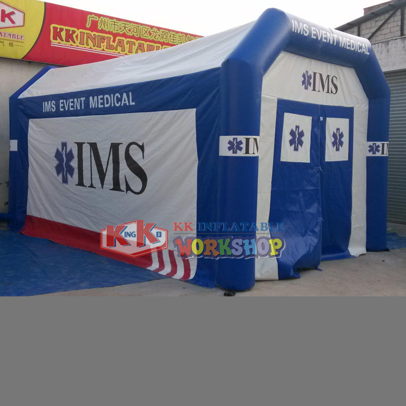 inflatable emergency rescue tent