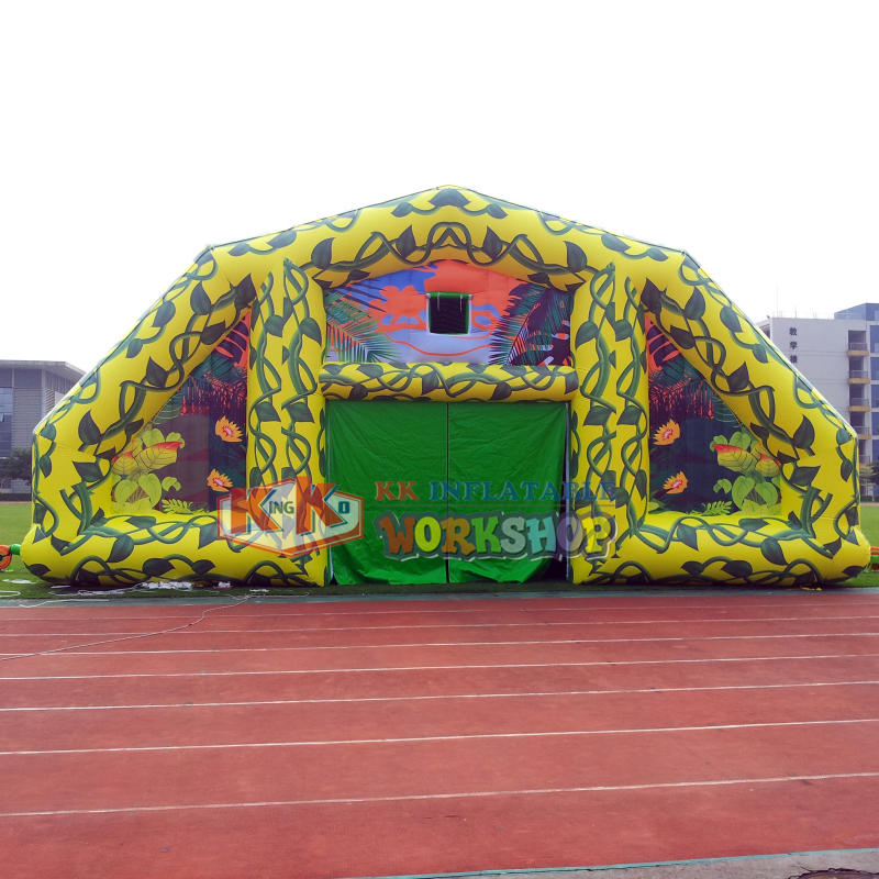 Large custom outdoor advertising inflatable tent