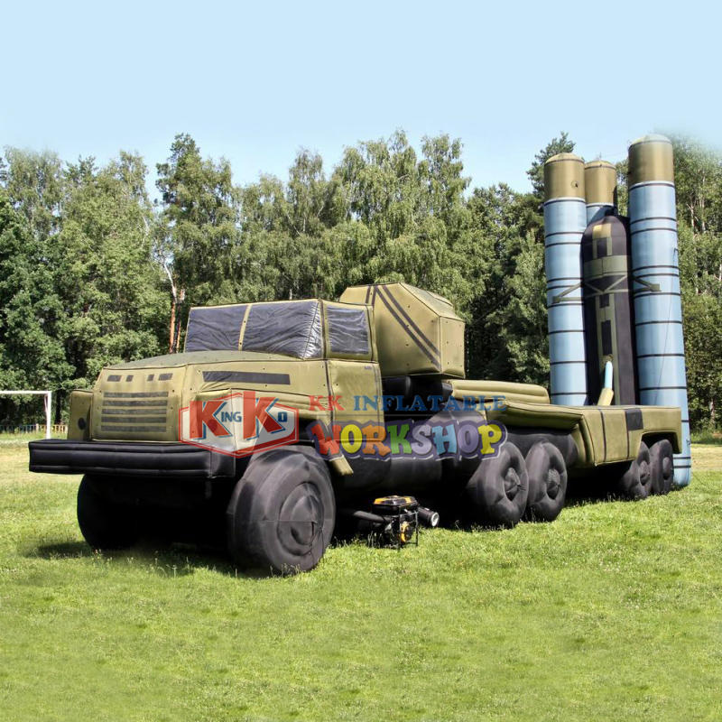 Giant Inflatable military decoy tank