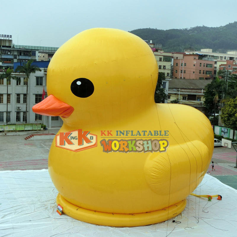 big inflatable water floating duck