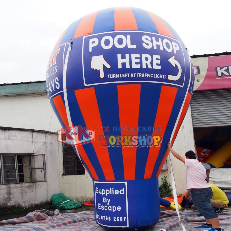 Custom inflatable advertising hot air balloon