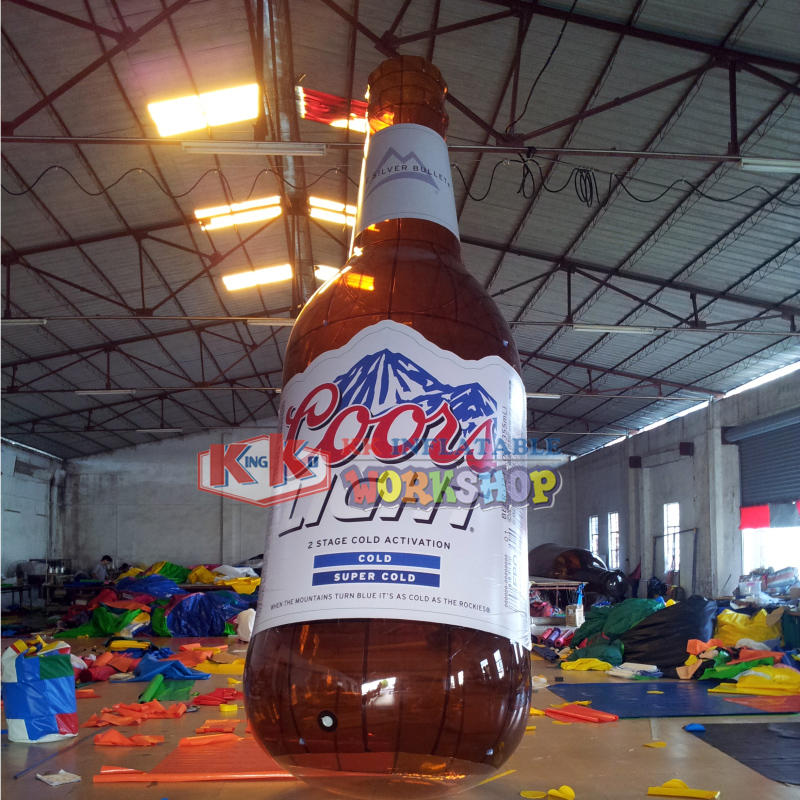 Manufacturer custom beverage dealer inflatable advertising