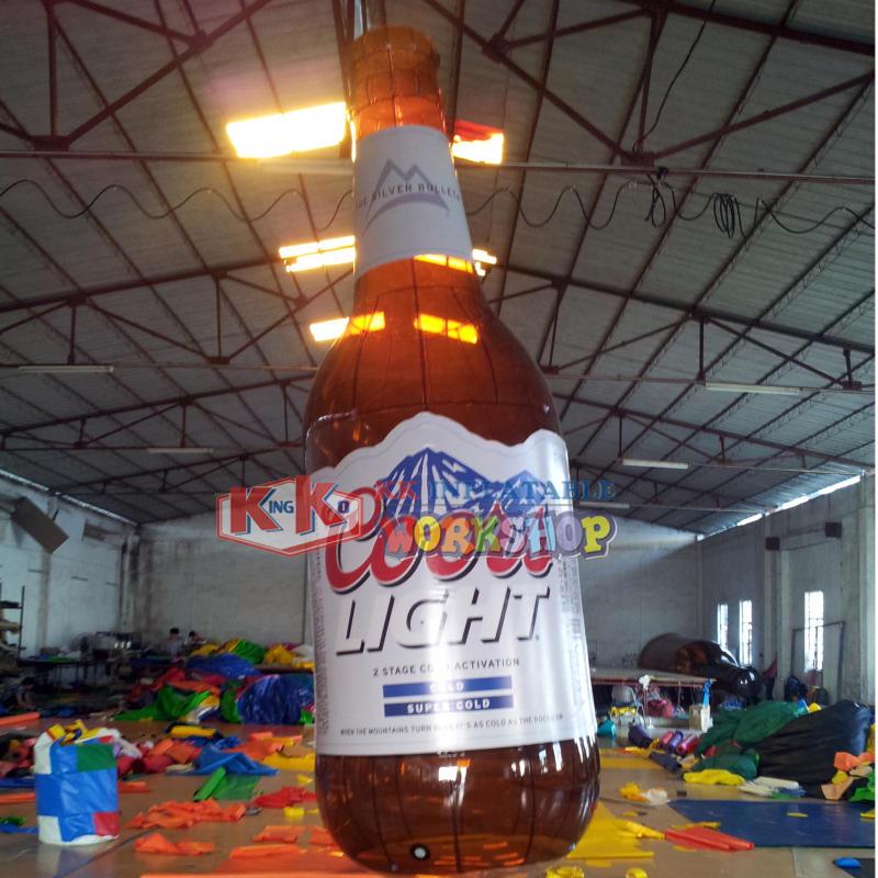 Manufacturer custom beverage dealer inflatable advertising