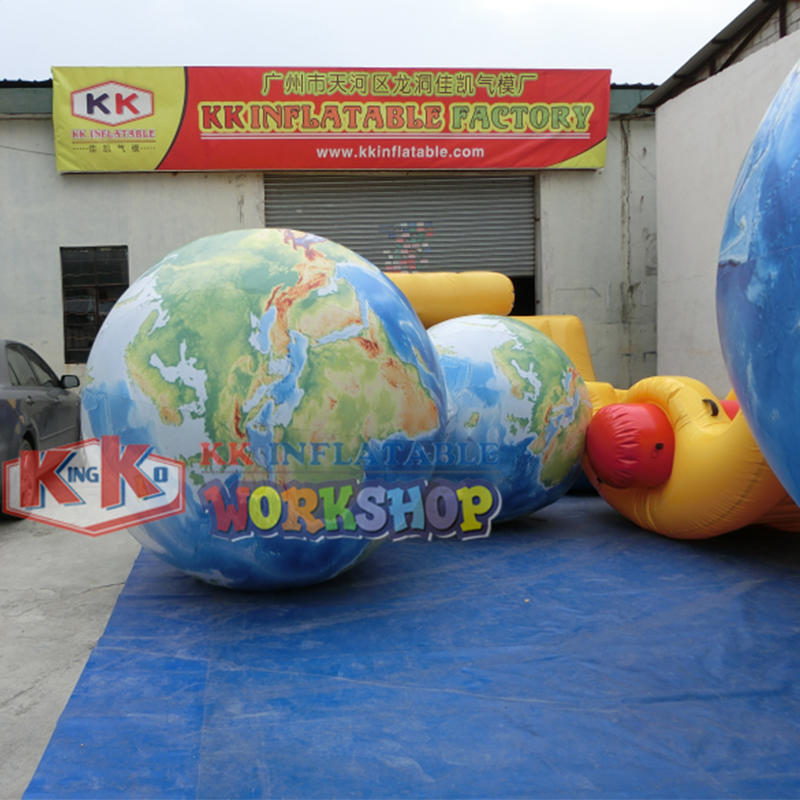 Giant Inflatable global moon balloon,inflatable earth global ball
