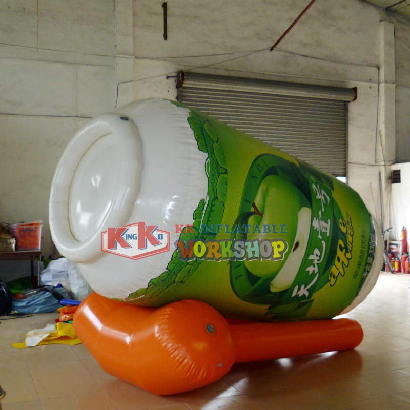Custom Giant Inflatable Bottles and Cans