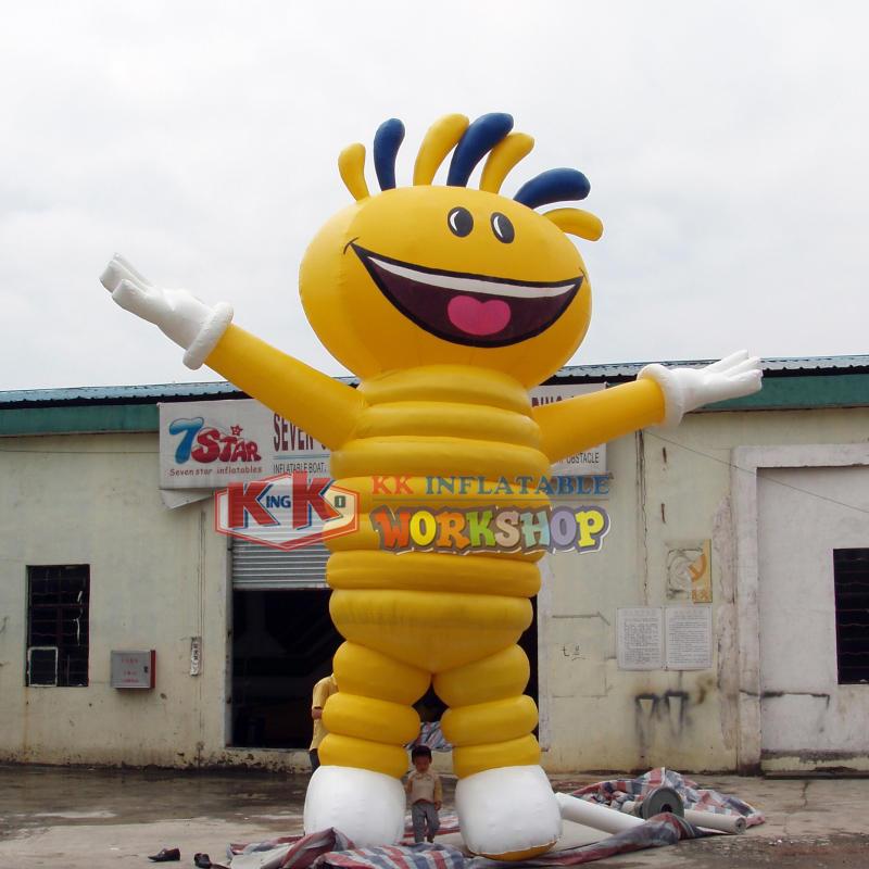 Mascot inflatable model customization