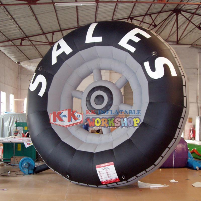 Merchant pneumatic tire model advertisement