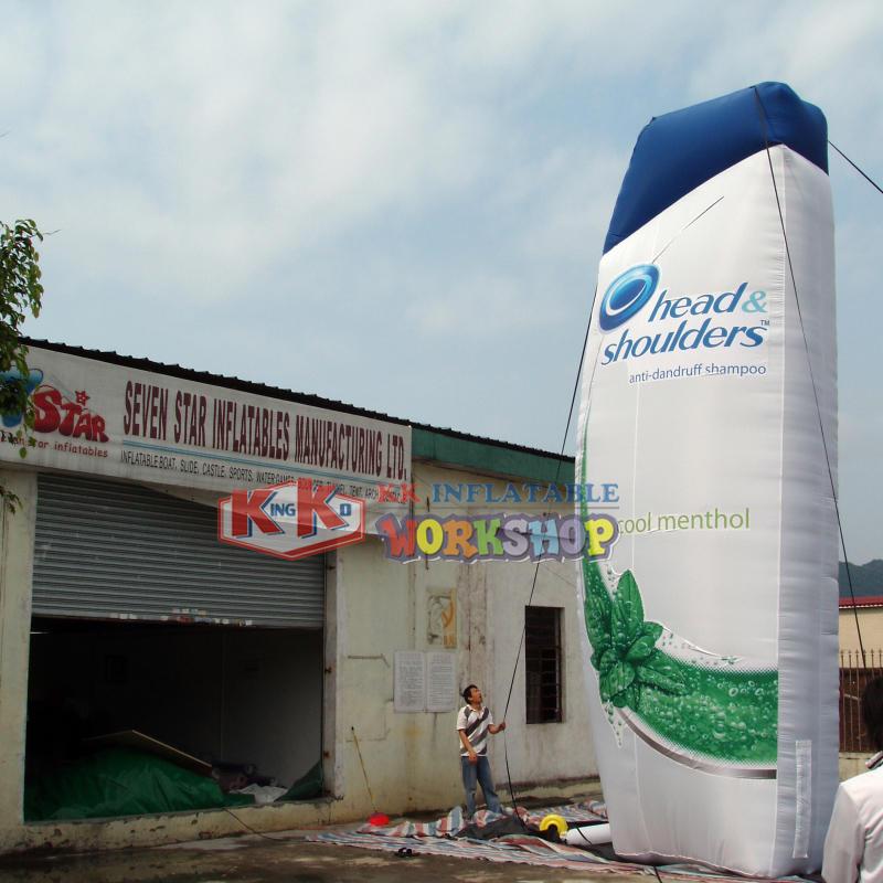 Massive sale of inflatable custom bottle models