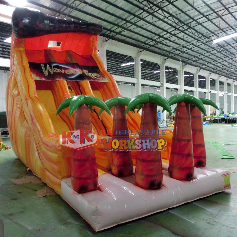 Children's Park Double Channel Inflatable Slide