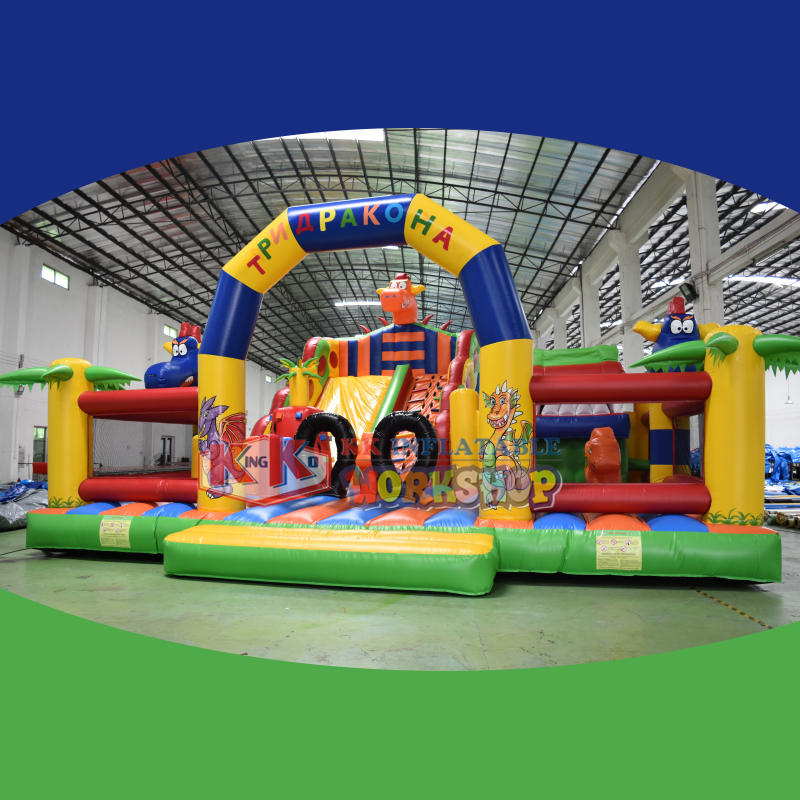 China Quality Inflatable Children's fun City