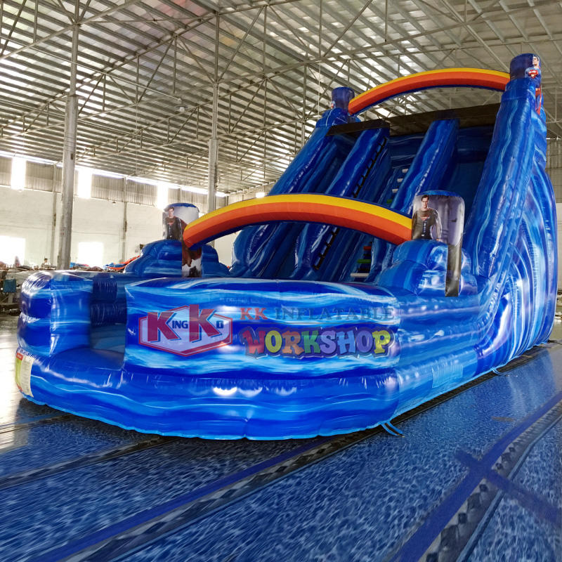 Auto Screamer inflatable slide