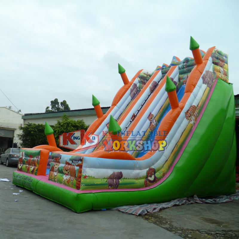 Inflatable Slide Jungle for Kids