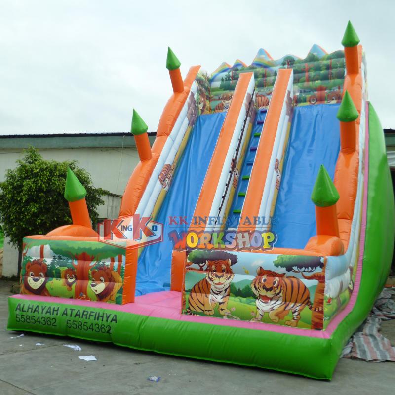 Inflatable Slide Jungle for Kids