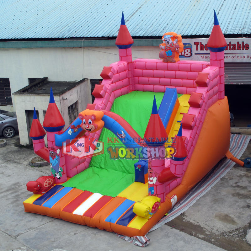 Children's Happy World Inflatable Slide