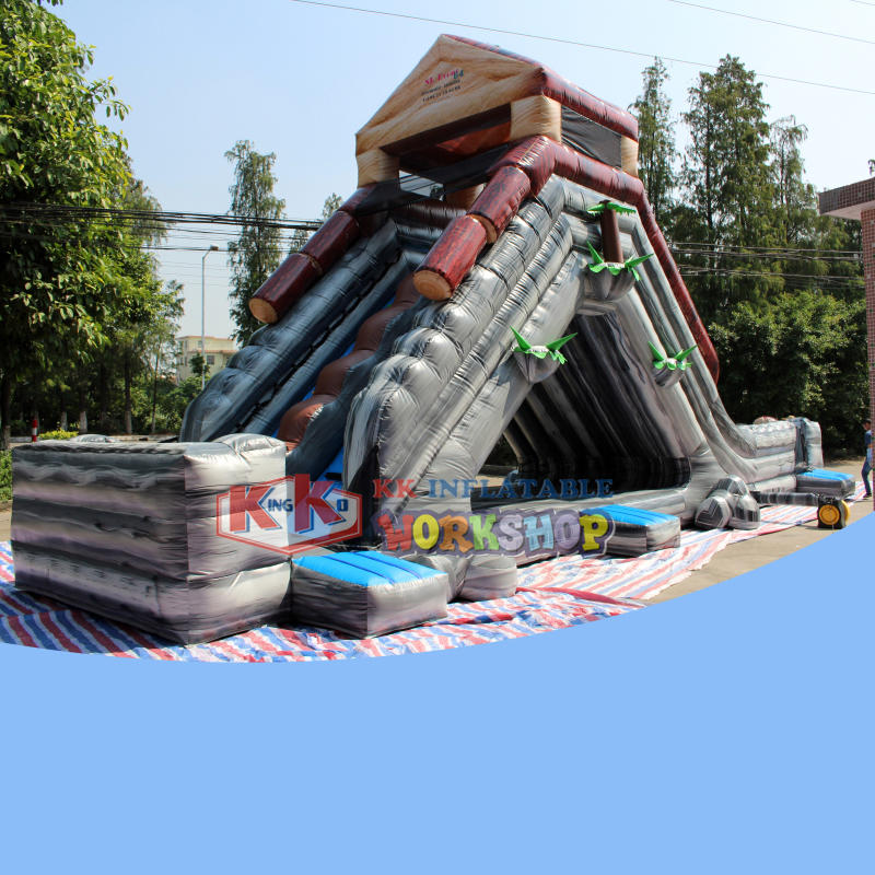 Hot New Products Wild rapids Dry Slide inflatable ramp water slide