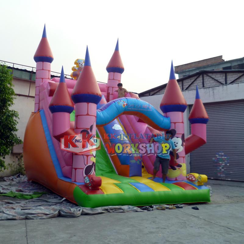 buy inflatable castle slide