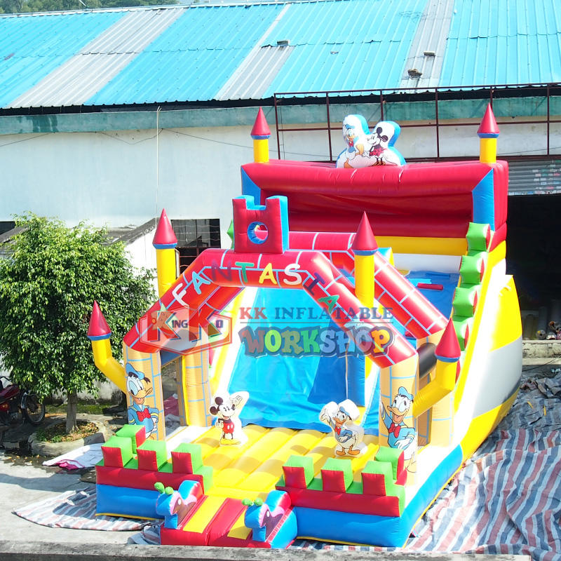 buy castle inflatable children bouncer slide