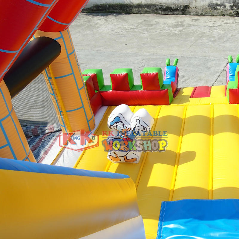 buy castle inflatable children bouncer slide