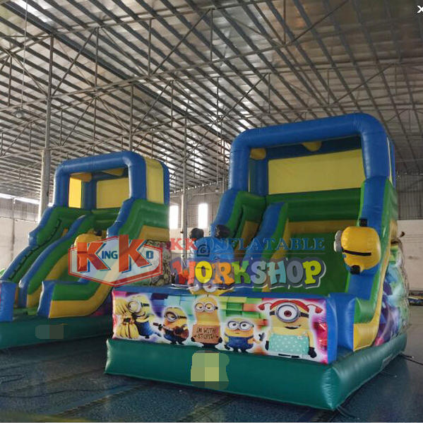 Cheap price inflatable angry bird slide, commercial inflatable Crazy Bird Slide