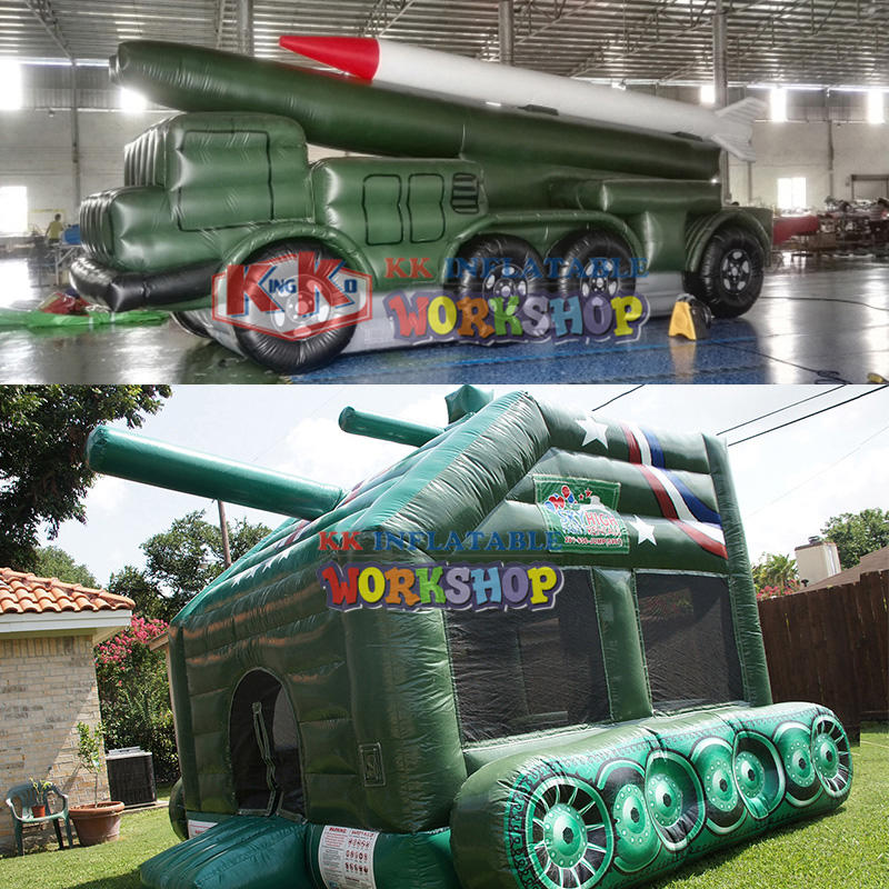 New attractive inflatable tank for sale