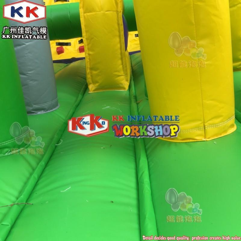 Toxic Vertical Rush Extreme Obstacle Course, Inflatable obstacle course for kids & adults
